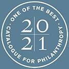 Catalogue for Philanthropy 2020 2021 Logo